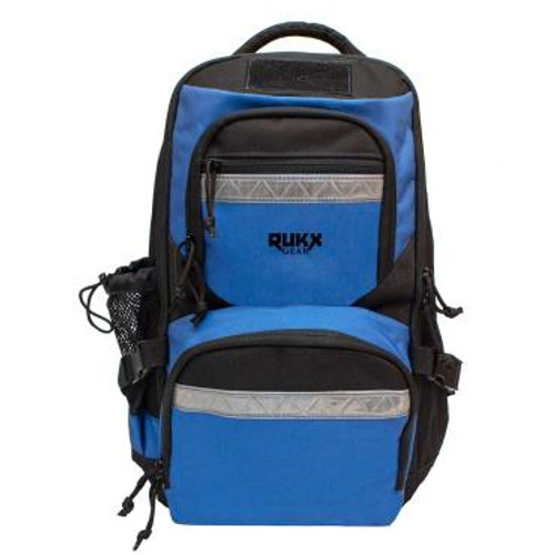 ATI RUKX Gear Survivor Backpack, Stores ATI Nomad In Rear Pocket, Blue