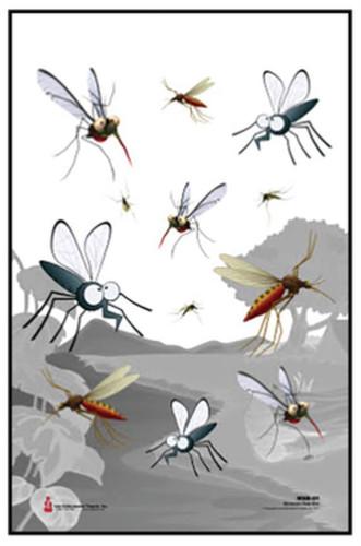 "Looper Law Enforcement Minnesota State Bird MosquitoTarget, Full Color, 23x35"""