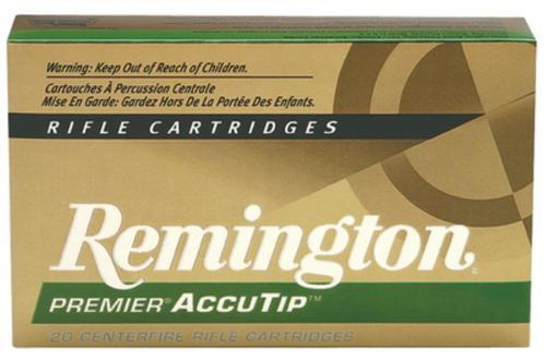 Remington Ammunition Premier 270 Winchester AccuTip 130gr, 20Box/10Case