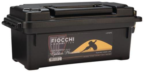 Fiocchi Golden Pheasant Nickel 12 Gauge 2.75 Inch 1250 FPS 1.3 Ounce 6 Shot 100 Rounds In Plano Case