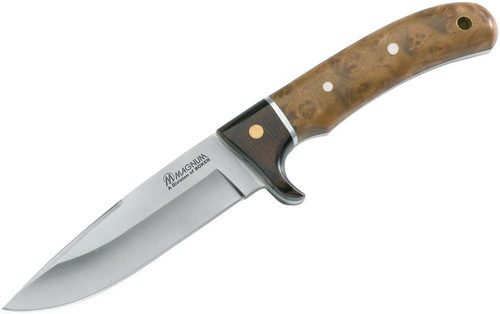 Boker Magnum Fixed 440 Stainless Straight Point Blade Rosewood/ Root