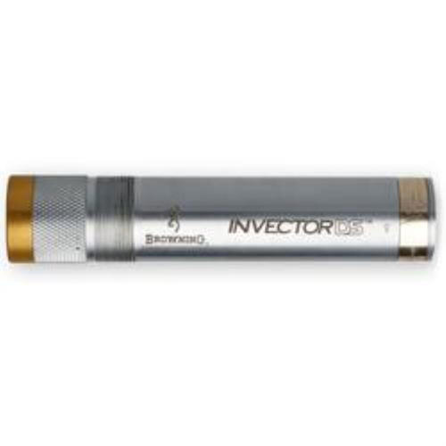 Browning Invector DS Extended 12 GA Light Modified Silver, Gold Band