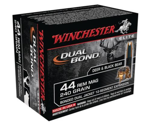 Winchester Dual Bond .44 Remington Magnum 240gr Dual Bond 20rd Box