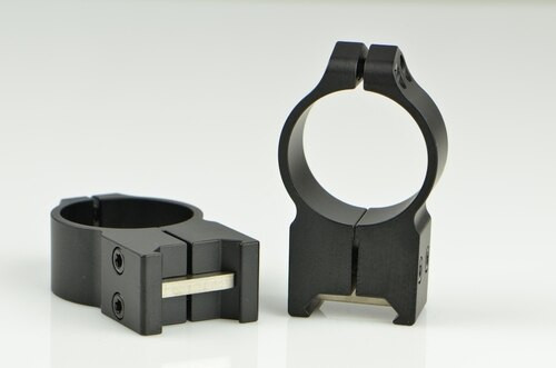 Warne 30mm, PA, Extra High Matte Rings, Steel, Fixed for Maxima/Weaver Style or Picatinny Bases