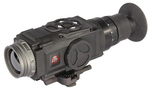 ATN ThOR 320 1X (30Hz) 19mm Objective Focal Length Thermal Weapon Sight Black