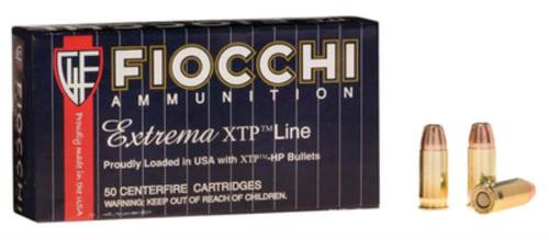 Fiocchi Extrema .32 Auto, 60gr, Xtp Hollow Point, 50rd/Box