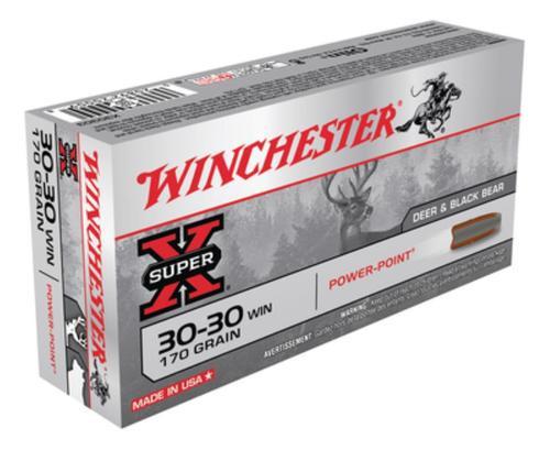 Winchester Super X .30-30 Power-Point 170gr, 20rd Box