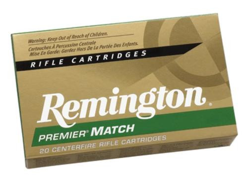 Remington Premier Match .308 Winchester 168 Grain MatchKing Boattail Hollow Point 20rd/Box