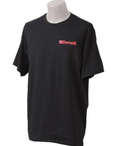 Benelli Logo T-Shirt, Black, XXL