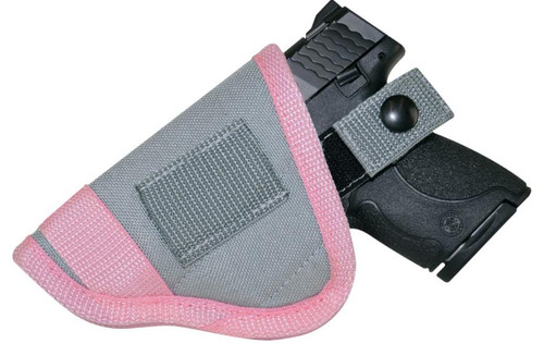 Crossfire The Pulse Blush Low-Profile Conceal Carry Holster Designed For Sub-Compact Size 2-2.5 Semi-Auto & J-Frame Revolvers Right Handed.