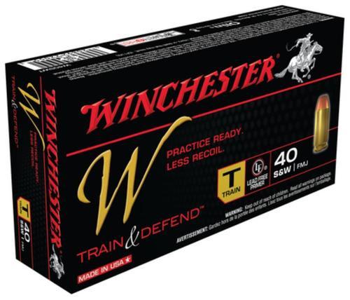 Winchester W Train .40 SW 180 Gr, FMJ, 50rd/Box