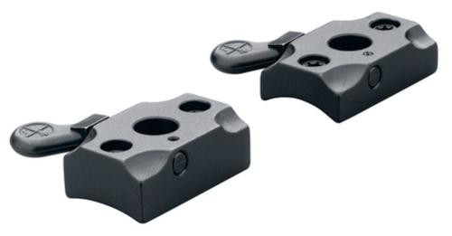 Leupold 2-Piece Quick Release Base For Remington 700 Gloss Black