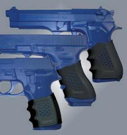 Pachmayr Slip-On Grip Glove, Beretta 92FS And M9, Black Rubber