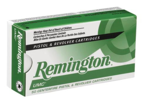 Remington UMC .38 Super 130gr, Metal Case 50rd Box