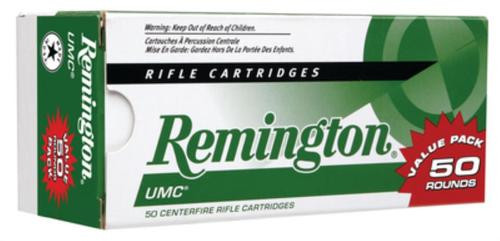 Remington UMC .223 Remington 55gr, Metal Case 50rd Box