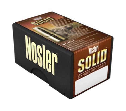 Nosler Solid Bullet .366 Diameter 286 Grain Flat Point