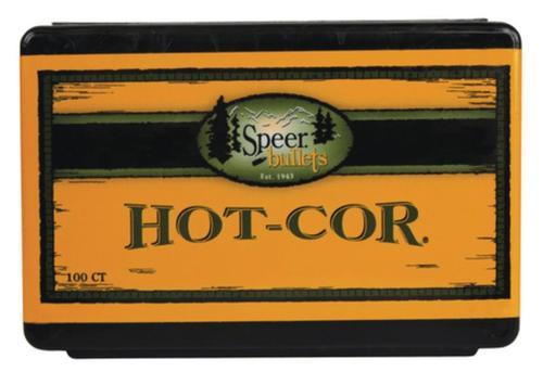 Speer Rifle Bullets Hot-Cor 9.3mm .366 270 Gr, Semi-Spitzer, Soft Point, 50/Box