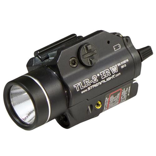 Streamlight TLR-2 IRW 300 Lumens CR123A Lithium (2) Black