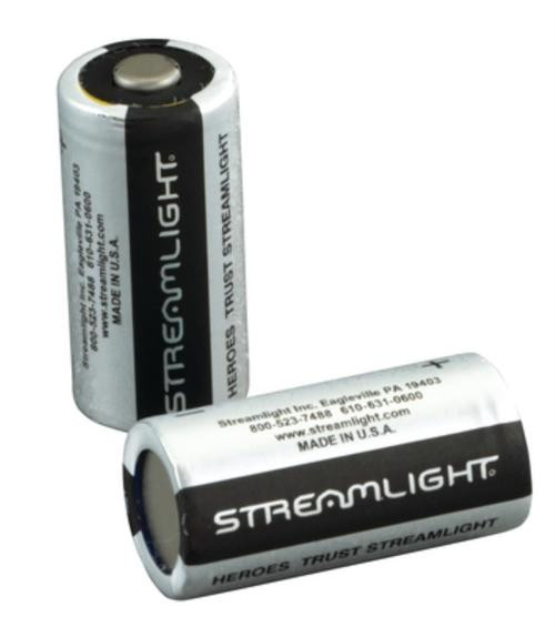 Streamlight Batteries CR2 Lithium, Two Pack