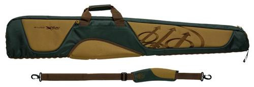 Beretta Xplor Shotgun Case 51x3x8 Polyester/Leather Black/Tan