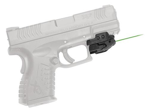"Crimson Trace Rail Master Universal Rail Mount, Green Laser, Most Weapons With M1913 Picatinny Rail, 1-1/16"" Between Recoil lug and Trigger Guard, CMR206"