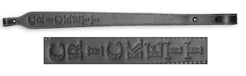 Keystone Crickett Leather Rifle Sling Black