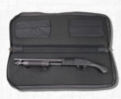 "Bulldog Tactical Hybrid Assault Rifle Case 31 Nylon Up to 30"" AR Black, Also Shorty Shotguns, AR-15 Pistols"