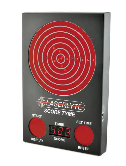 LaserLyte Trainer Score Tyme Trainer Target, 3 Digit LED Display