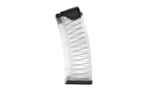 Lancer L5 Advanced Warfighter Magazine, 223/556, 30Rd, Fits AR Rifles, Clear Finish