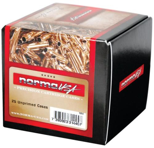 Norma Ammunition Unprimed Brass Cases 6.5x54 MS 25/Box