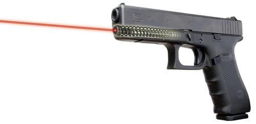 "LaserMax Guide Rod Red Laser For Glock 17 Gen4 .75""@25yd 3-393 Bttry"