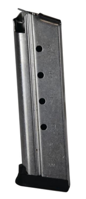 ARMSCOR Pistol Magazine with Base Pad for 9mm 9rd Blue
