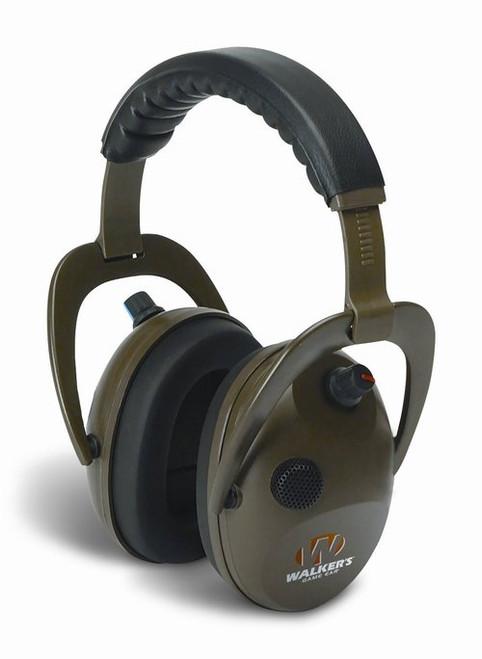 Walker's Game Ear Alpha Electronic Muffs, Green