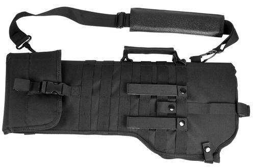 "NCStar Tactical Rifle Scabbard 28.5x9.5"" 600x300D PVC Black"