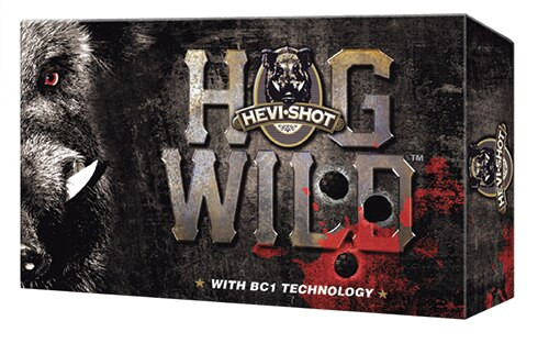 "HEVI-Shot Hog Wild 12 Gauge 3"" 2 Ball .625 Magnum Ball 5rd/Box"