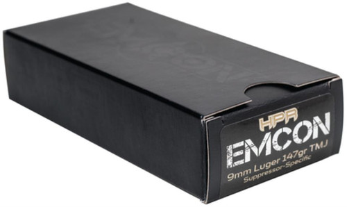 HPR Ammunition Hpr Ammunition HyperClean EmCon Suppressor 9mm 147 Grain Total Metal Jacket