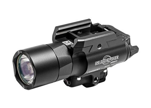 Surefire X400 Ultra LED WeaponLight, Red Laser 500 Lumens Alum Black