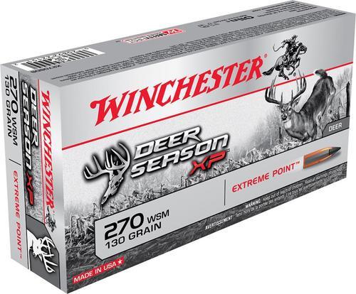 Winchester Deer Season XP .270 WSM, 130 Gr, Polymer Tip, 20rd Box