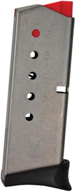 Smith & Wesson 380 M&P Bodyguard Magazine, Stainless, Factory Mag, 6rd
