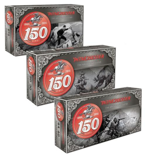 Winchester 150th Anniversary Commemorative .44-40 Win, 200gr, Power Point, 50rd Box