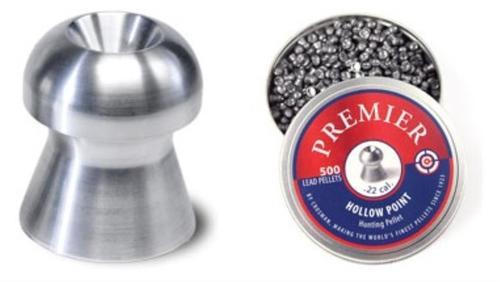 Crosman .22 cal. Hollow Point Pellets, 500 Pack
