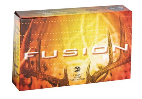 Federal Fusion Sabot Slugs 12 Gauge 2.75 Inch 1650 FPS .875 Ounce 5 Per Box