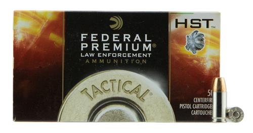 Federal HST 9mm, 124 Gr, LE, 50rd/Box