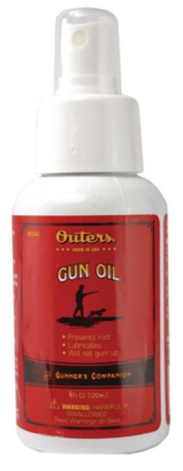 Outers Gun Oil Cleaning Lube/Oil Lubricant 4 oz