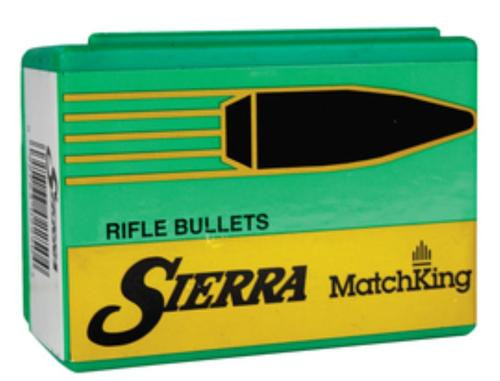 Sierra MatchKing .22 Caliber .224 80gr, Hollow Point Boat Tail, 50/Box
