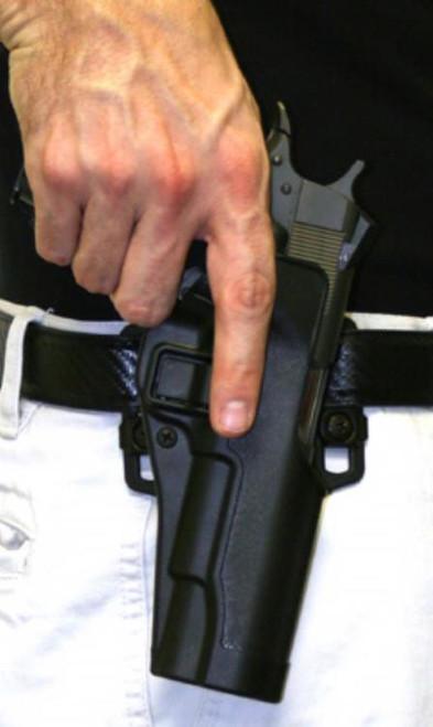 BlackHawk CQC Serpa Holster, Black, Beretta 92/96, Right Handed