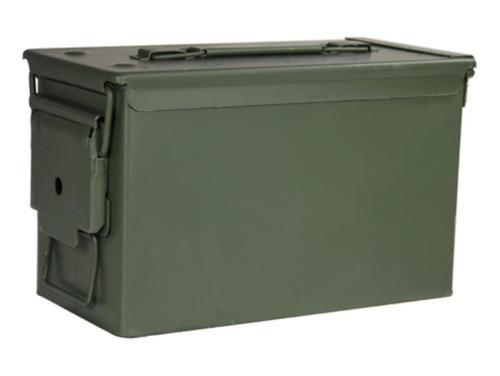 """USGI M2A1 Ammo Can, 50 Cal New, Air/Watertight 11 x 7 x 5.5"""""""