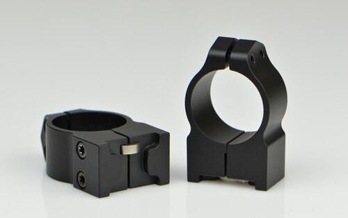 Warne Ruger 1 Inch Ruger, PA, Med Matte Rings, Fits #1, Mini 14-30, Grooved Receiver