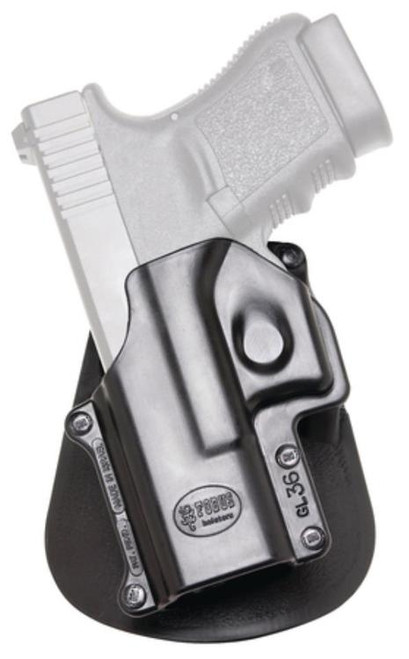 Fobus Paddle Holster, Fits H&K Compact & USP 9/40/45, Left Hand, Kydex, Black