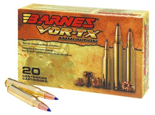 Barnes VOR-TX 458 LOTT TSX Flat Base 500gr, 20rd Box